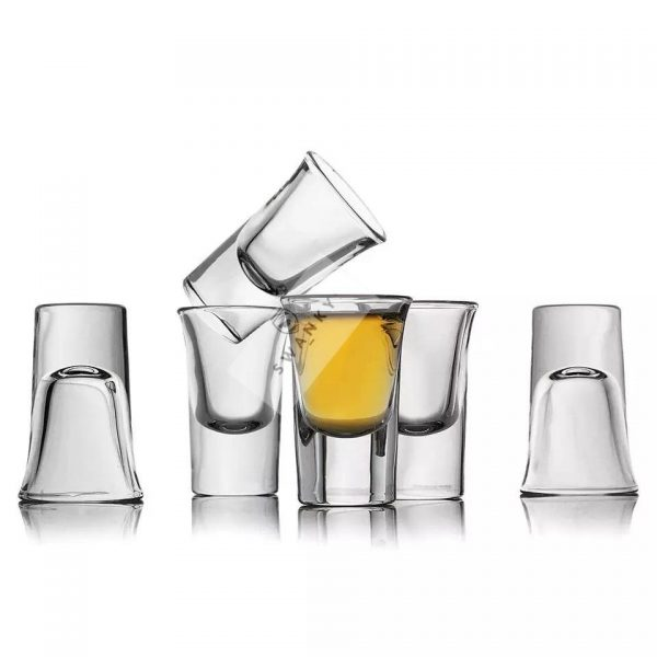 Swanky Vodka Tequila Shot Glass 6pcs Set 25ml