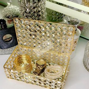 European Crystal jewelry Storage box