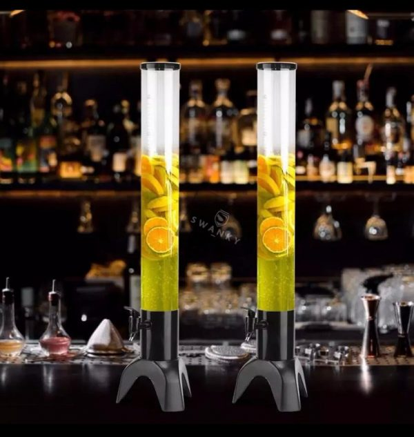 Swanky Beer and liquor Dispenser with Ice Tube