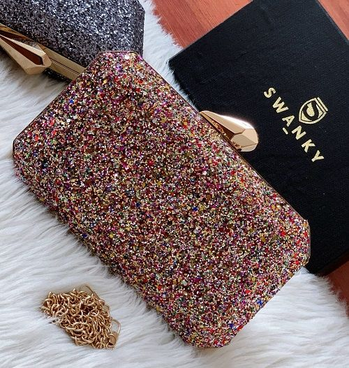 Evening Clutch bags Purse for Women | SW-SQ-CL/M-LT