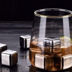 Swanky Whisky Stone Stainless Steel Ice Cube